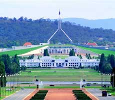 Photo of Australian Parliament House (APH) in Canberra