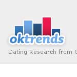 "The logo for OKTrends, ""original research and insights from OkCupid"""