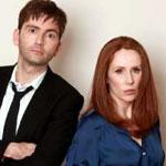 David Tennant and Catherine Tate
