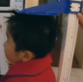 Joshua's height is measured (Life at 3, ABC)