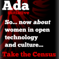 The Ada Initiative census advertisement button