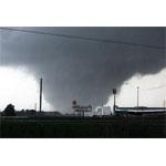 Tornado moving through Tuscaloosa