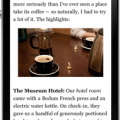 Screenshot of Instapaper iPhone app