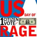 logo for US Day of Rage campaign