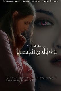 movie poster: Bella looks down at her pregnant belly