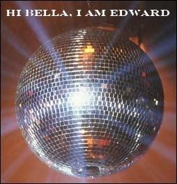 A shiny sparkly disco ball