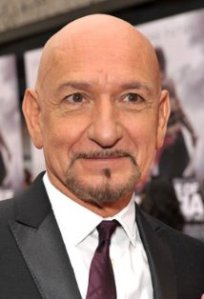 Sir Ben Kingsley at a publicity event