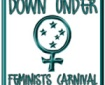 Down Under Feminists Carnival logo