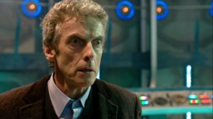 Twelfth Doctor in the Tardis