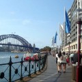 Photograph of East Circular Quay promenade