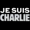 Je Suis Charlie graphic from Charlie Hebdo website